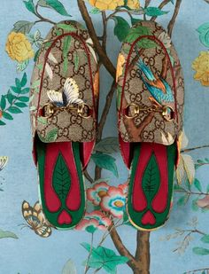 These Gucci loafers. @thecoveteur
