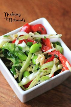 Japanese Noodle Salad by Noshing With The Nolands