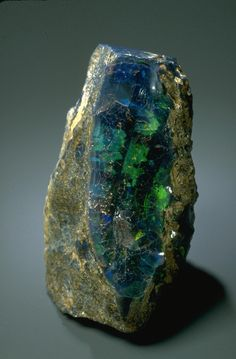 A specimen of opal from the United States. Minerals And Gemstones, Crystals Minerals, Rocks And Minerals, Stones And Crystals, Gem Stones, Opal Mineral, Mineral Stone, Beautiful Rocks, Rocks And Gems