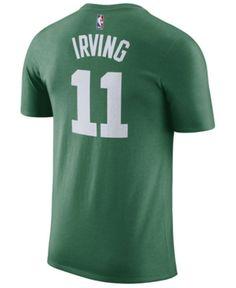 100ee466c36 Nike Men's Kyrie Irving Boston Celtics Name & Number T-Shirt - Green 3XL