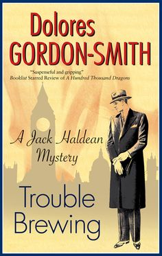 Trouble Brewing by Dolores Gordon-Smith  For fans of DOWNTON ABBEY,  a 1920s mystery. Mark Helston, the rising star of Hunt Coffee Limited, was successful and popular, with plenty of money and everything to live for. Yet at half past seven on the evening of the ninth of January, 1925, he walked out of his flat and disappeared. Desperate to know what happened to Mark, his uncle, old Mr Hunt, appeals to Jack Haldean. Inspector Bill Rackham of Scotland Yard... #GoldenAge #1920s #mystery