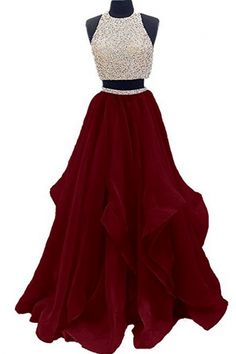 Looking for Dressytailor Two Piece Floor Length Organza Prom Dress Beaded Evening Gown ? Check out our picks for the Dressytailor Two Piece Floor Length Organza Prom Dress Beaded Evening Gown from the popular stores - all in one. 2 Piece Homecoming Dresses, Pretty Prom Dresses, Prom Dresses Two Piece, A Line Prom Dresses, Quinceanera Dresses, Dance Dresses, Prom Gowns, Dress Long, Long Dresses