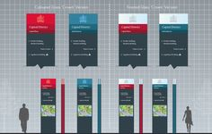 University of Calgary - Campus Wayfinding Master Plan by Cygnus Group, via Behance