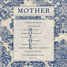 Tribute to Mom ... in Love Letter form ... from the heart of God's Word.  Colleen D.C. Marquez, Literary artist.