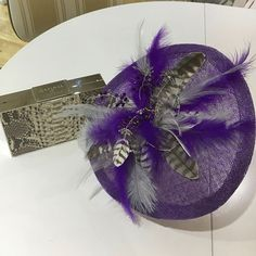 Stunning bespoke fascinator to compliment an clutch bag. Luxurious and one of a kind! Groom Outfit, Prom Dresses, Wedding Dresses, Mother Of The Bride, Fascinator, Clutch Bag, Bespoke, Compliments, Bridal