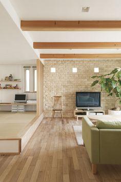 Tatami Room, Room Partition Designs, Rustic Industrial Decor, Natural Interior, Minimalist Kitchen, Diy Room Decor, Home Decor, Home Interior Design, Living Room Designs