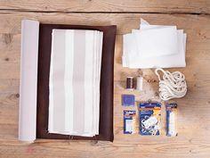 Come fare una sacca zaino in ecopelle e stoffa - Materiali