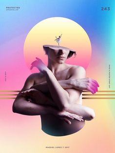 A Poster Every Day by Magdiel López Photomontage, Design Poster, Design Art, Conception Photoshop, Cover Design, Magdiel Lopez, Vaporwave Art, Affinity Photo, Montage Photo