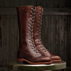 Wow. I don't know if I could pull these off, but they are beautiful. Sophia 1000 Mile Boot.