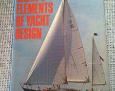 Yacht book Skene's Elements of yacht Design hardback book instructional illustrated boat sailing nautical - Edit Listing - Etsy
