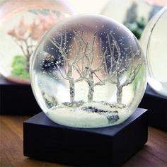 Cool Snow Globes