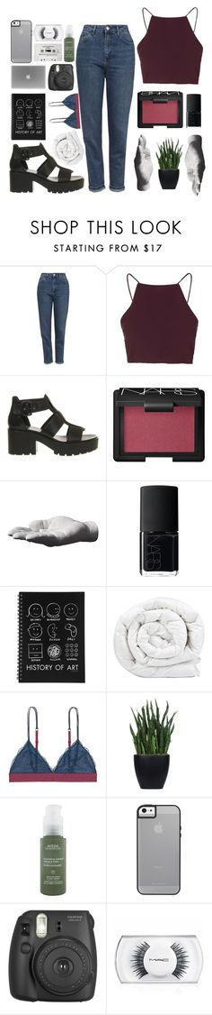 """mama, we're all full of lies"" by dr0ught ❤ liked on Polyvore featuring Topshop, Vagabond, NARS Cosmetics, Harry Allen, Brinkhaus, LoveStories, Lux-Art Silks, Aveda, CASSETTE and MAC Cosmetics"