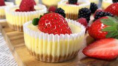 Meine heiß geliebten Mini Cheesecakes, mega lecker und einfach - Rezept # 51 - YouTube Mini Cheesecakes, Cake Recipes, Dessert Recipes, Muffin Tin Recipes, Cake Factory, Cheesecake Cupcakes, No Cook Desserts, Sweet Tooth, Easy Meals