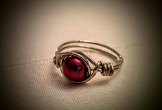 Wire bead ring