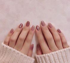Cute Pink Nails, Cute Nail Art, Elegant Nail Designs, Gel Nail Designs, Stylish Nails, Trendy Nails, Chrismas Nail Art, Hair And Nails, My Nails