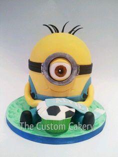 Alfie's Minion Cake