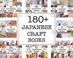 180+ Japanese Craft Ebooks - Patterns Collection - Embroidery - Tatting - Patchwork - Crochet - Digital Download - PDF - Japanese Language - - - - - - - - - - The listing is for an eBooks (electronic books) - - - - - - - - - - JAPANESE LANGUAGE The collection of 159 Japanese Craft