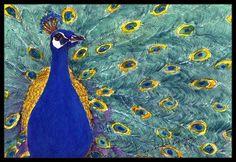 Peacock Bird Doormat