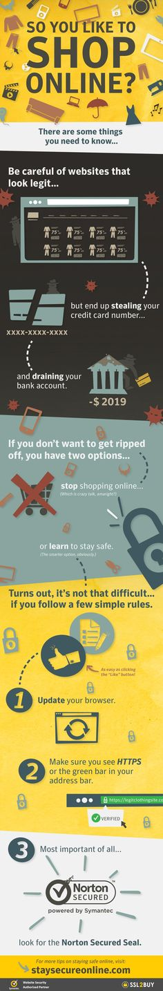 Stay Safe over the Web During Online Shopping