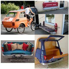 EL MUNDO DEL RECICLAJE: Recicla un viejo coche