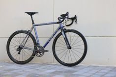 No 22 Titanium road bike with Campy 11spd and ENVE fork & rims