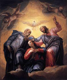 Paolo Veronese - Coronation of the Virgin - WGA24795 - パオロ・ヴェロネーゼ - Wikipedia