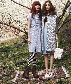 Full Blooms - Harper's Bazaar Korea - May 2012
