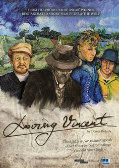 Loving Vincent; What an amazing visual treat. You don't need to be an art enthusiast to appreciate this incredible work.