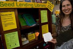 Seed Lending Library (seed saving at the grassroots level)