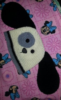 Gorro perrito tejidos a crochet