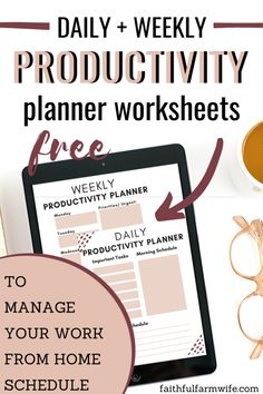 Working from home with young kids can be a challenge. Check out these Tried & True Productivity Tips for Work at Home Moms! Free Planner, Blog Planner, Printable Planner, Free Printables, Make More Money, Make Money Blogging, Time Management Tools, Finance Tracker, Farm Kids