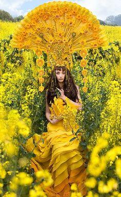Marigold Ruffle Fantasy