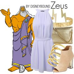 Disney Bound: Zeus from Disney's Hercules Disney Character Outfits, Disney Princess Outfits, Disney Themed Outfits, Disneyland Outfits, Character Inspired Outfits, Disney Bound Outfits, Disney Dresses, Disney Clothes, Casual Cosplay