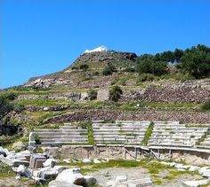 TRAVEL'IN GREECE I Ancient Greek Theatre, #Milos, South Aegean, #Greece