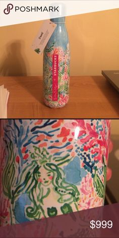 Lilly Pulitzer Swell Bottle Siren Mermaid BNWT. Literally right out of the box. Cant decide if I want to keep or sell... Lilly Pulitzer Other