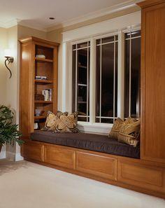 Window Seat - Bellmont Cabinet Co.