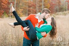 Simply adorable fall engagement session :)