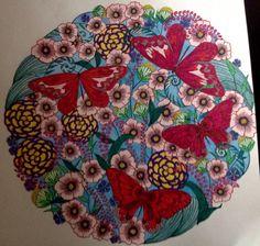 Millie Marotta Dierenrijk Kleurboek Vlindertuin