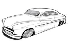 18 Best Coloring Book Hot Rod Designs By Studio Pck Images
