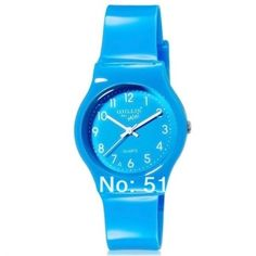WILLIS children cartoon watches Bright Color Stylish Analog Watch jelly watch