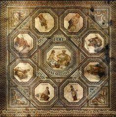 Roman Mosaic of Vichten