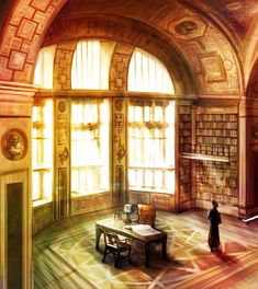 Library by Max0083 on DeviantArt