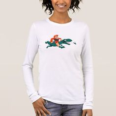 #T rex bigfoot-cartoon t rex-cartoon bigfoot long sleeve T-Shirt - #dino #shirts