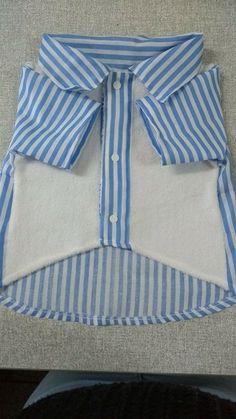 Camisa Pet tam G Confeccionada em tecido e micro fibra . Comprimento 35 cm, Contorno do peito 53 cm, Contorno pescoço 39 cm.