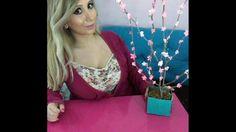 DIY Paper Cherry Blossom Branches / Papier-Kirschblüten-Zweige