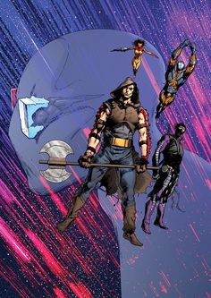 Comic Book Characters, Comic Books Art, Comic Art, Fictional Characters, Constantine Comic, Bryan Hitch, Symbiotes Marvel, Character Art, Character Design