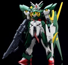 HGBF 1/144 Gundam Fenice Rinascita: Official Photoreview No.11 Big Size Images, Info http://www.gunjap.net/site/?p=197234