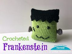 Crocheted Frankenstein pattern by Erica Dietz
