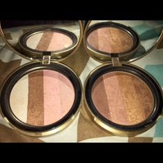 Too faced bronzes Selling 2 two faced bronzes. Selling snow bunny and beach bunny. Snow bunny is s more luminous bronzer while beach bunny the darker of the 2 is a custom blend bronzer. Amazing pigmentation and worth the purchase Too Faced Makeup Bronzer