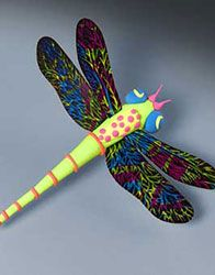 model magic dragonfly + scratchart wings - could choose dragonfly or butterfly; could require symmetry on wings for both; a way to use up Model Magic